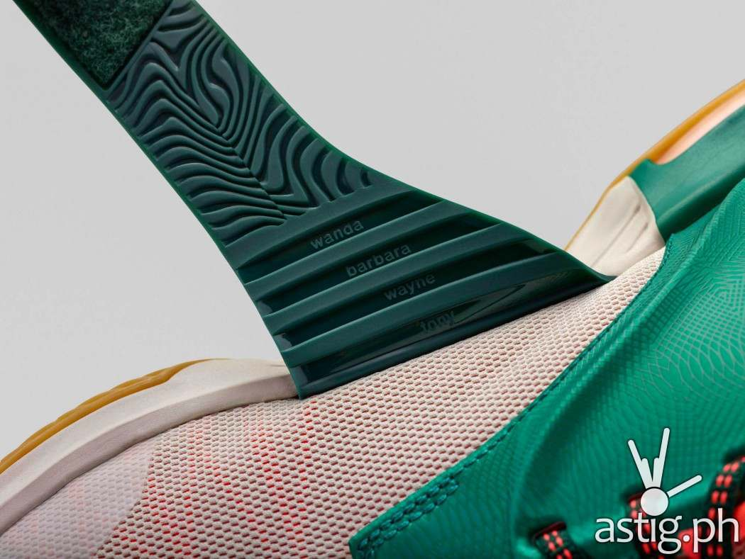 Nike Kevin Durant KD7: Easy Money - strap view