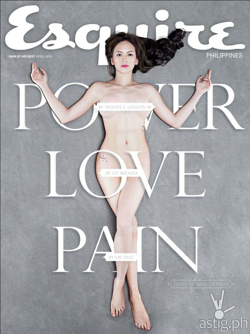 Ellen Adarna Esquire Philippines magazine April 2014 cover