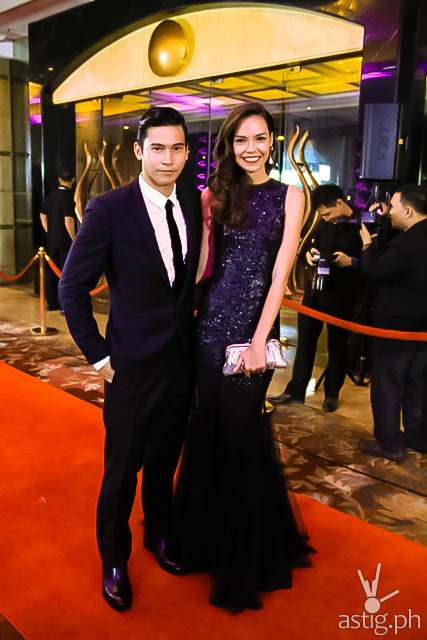 Enchong Dee and girlfriend Samantha Lewis Star Magic Ball 2014