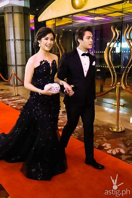 Enrique Gil and Liza Soberano Star Magic Ball 2014
