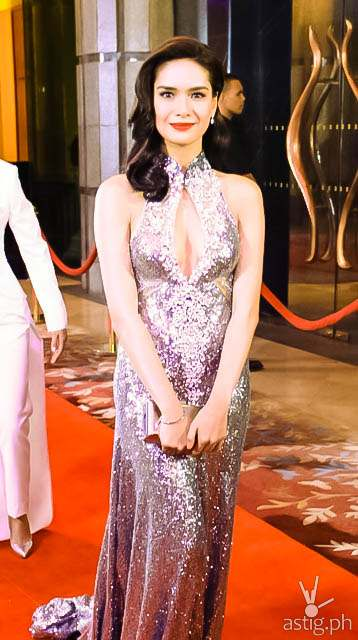 Erich Gonzales Star Magic Ball 2014
