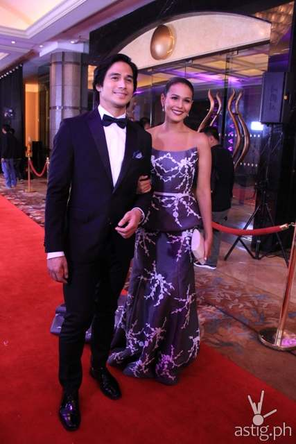 Fabulous Pair of the Night Piolo Pascual and Iza Calzado Star Magic Ball 2014