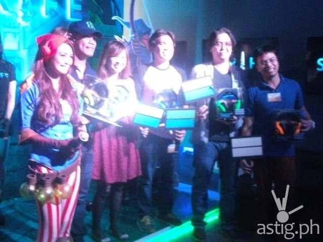 Five lucky winners of Razer gear!