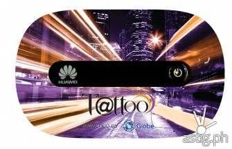 Globe cuts Tattoo 4G mobile WiFi stick price to 1495PHP