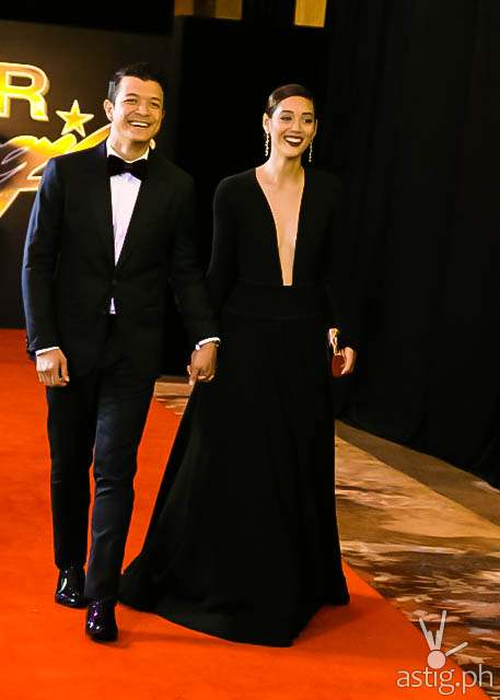 Jericho Rosales and wife Kim Jones Star Magic Ball 2014