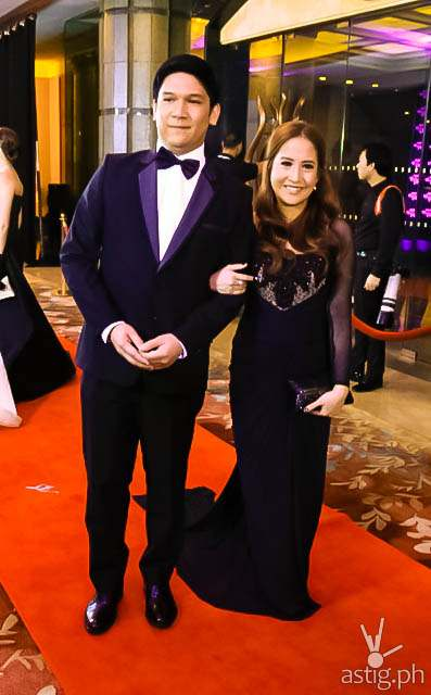 Jolina Magdangal and Mark Escueta Star Magic Ball 2014