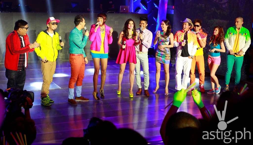 Jugs, Teddy, Vice, Anne, Vhong, Karylle, Kuya Kim, Jhong, Coleen, and Ryan