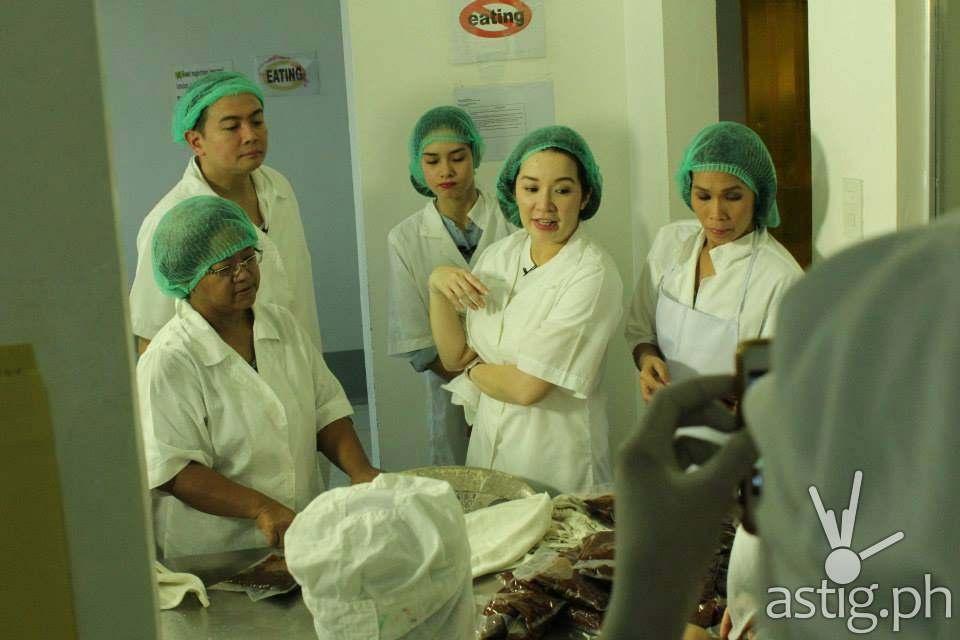 Kris Aquino Amanda Batad Amanda's Premium Bagoong tinapa