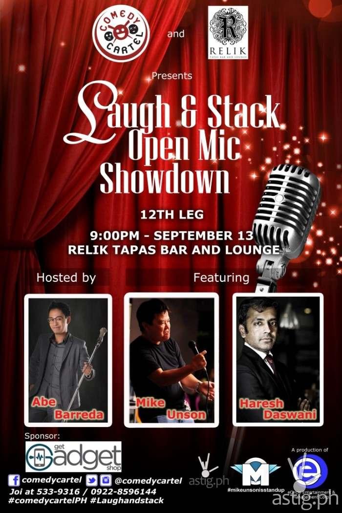 Laugh & Stack Open Mic Showdown