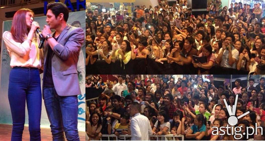 Thousands of fans attended the Pure Love mall tour in Pampanga