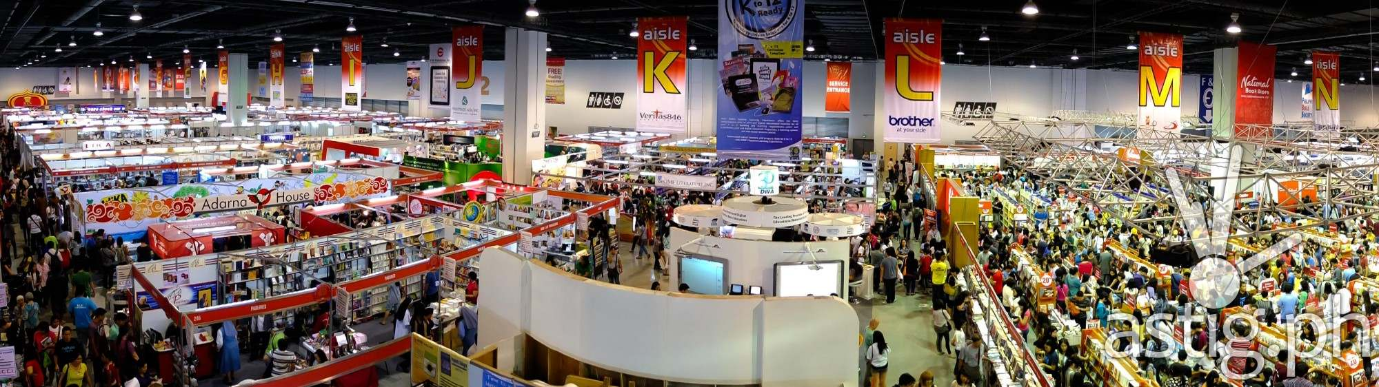Manla International Book Fair (photo inquirer.net)
