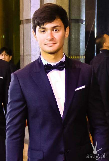 Matteo Guidicelli Star Magic Ball 2014