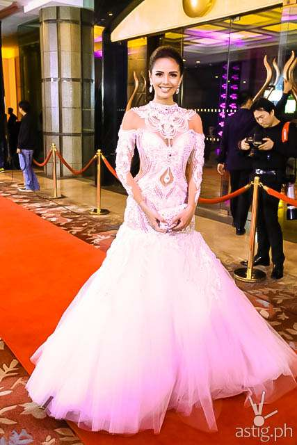 Miss World 2013 Megan Young Star Magic Ball 2014