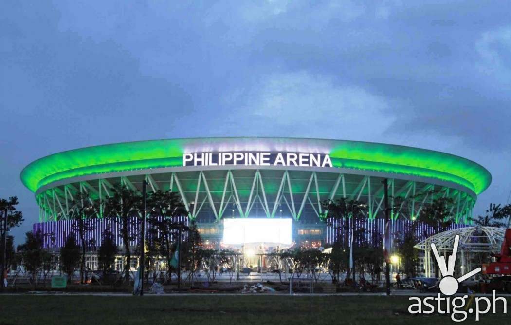 Philippine Arena, the largest indoor arena in the world (Wikipedia)