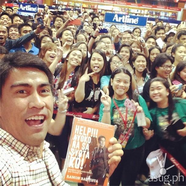 """Ramon Bautista at the launching of his book entitled """"Help!!! Ayoko na sa Syota Ko!"""""""