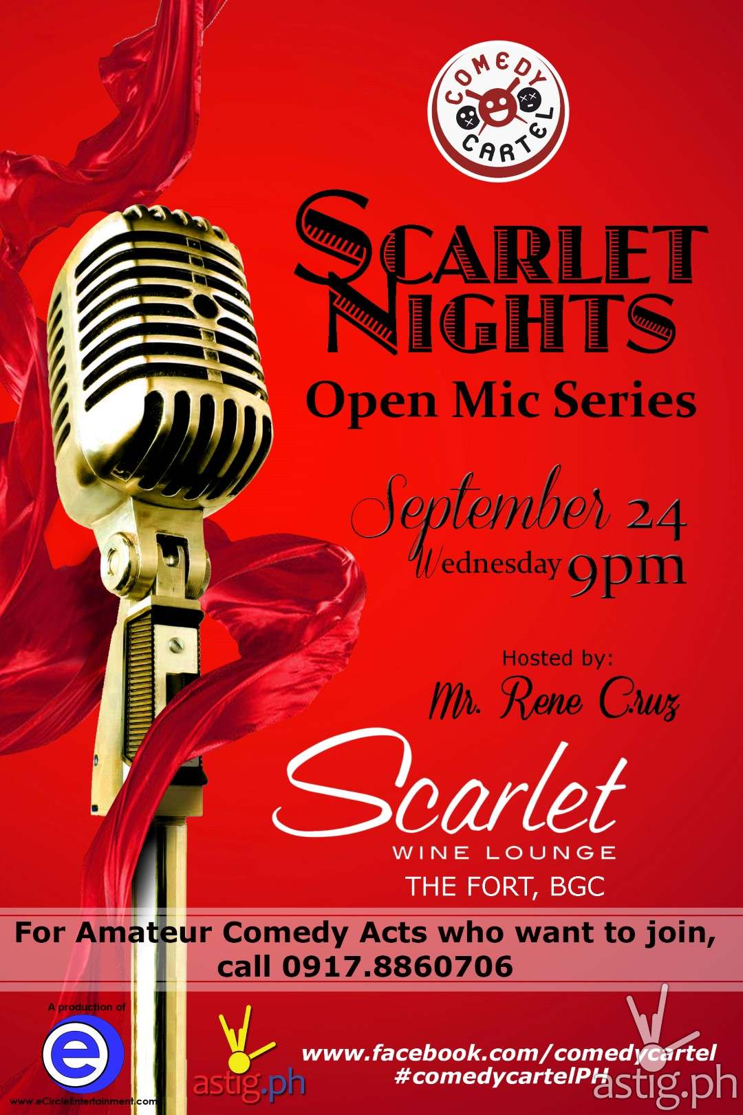 Scarlet Nights poster