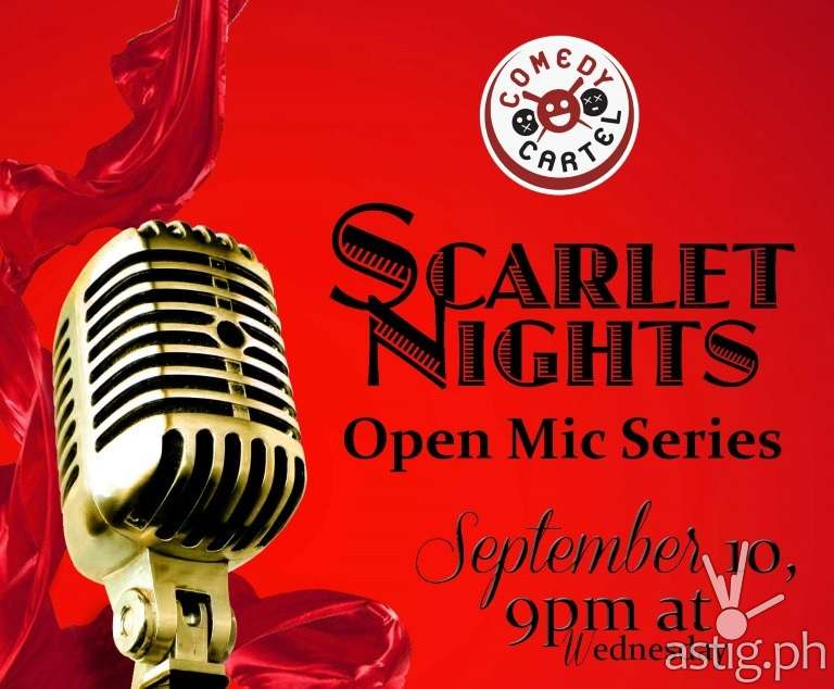 Scarlet nights by Comedy Cartel