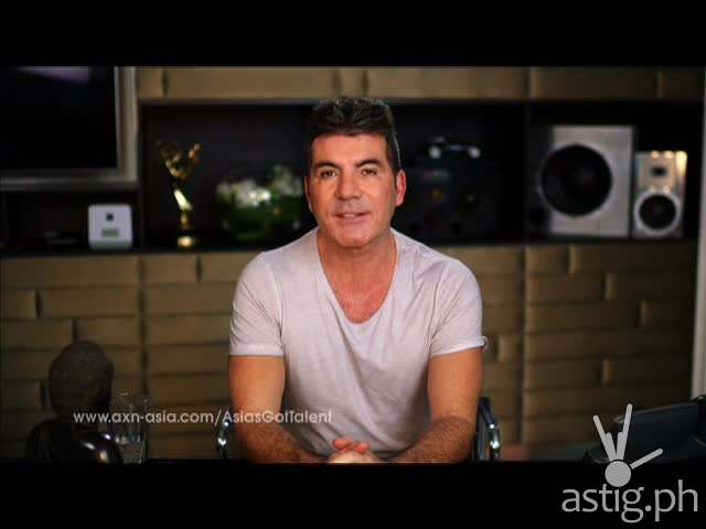 Simon Cowell at Asia's Got Talent Philippine auditions trailer
