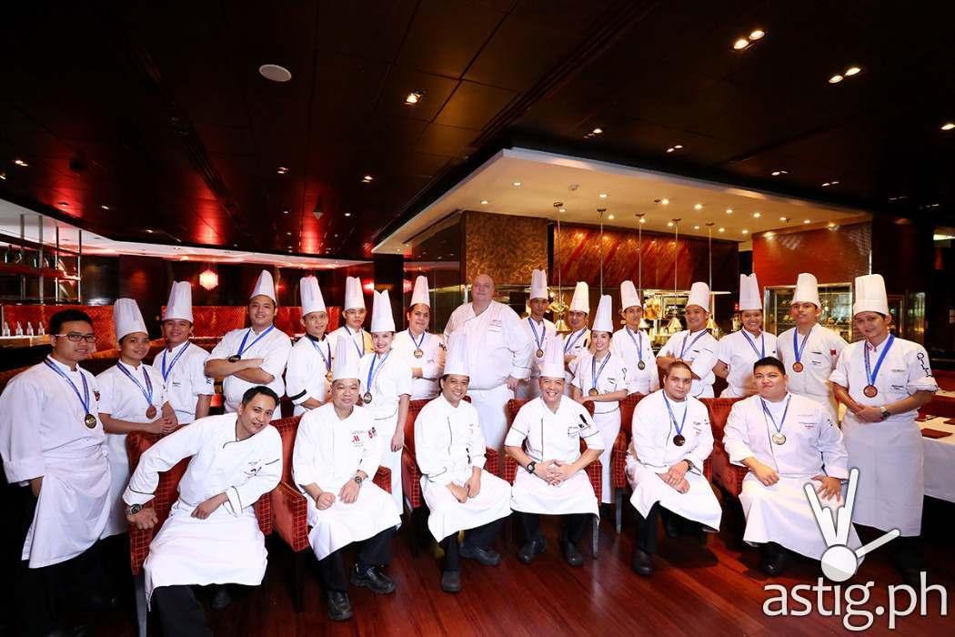 Congratulations to the Kitchen Team of Marriott Hotel Manila!