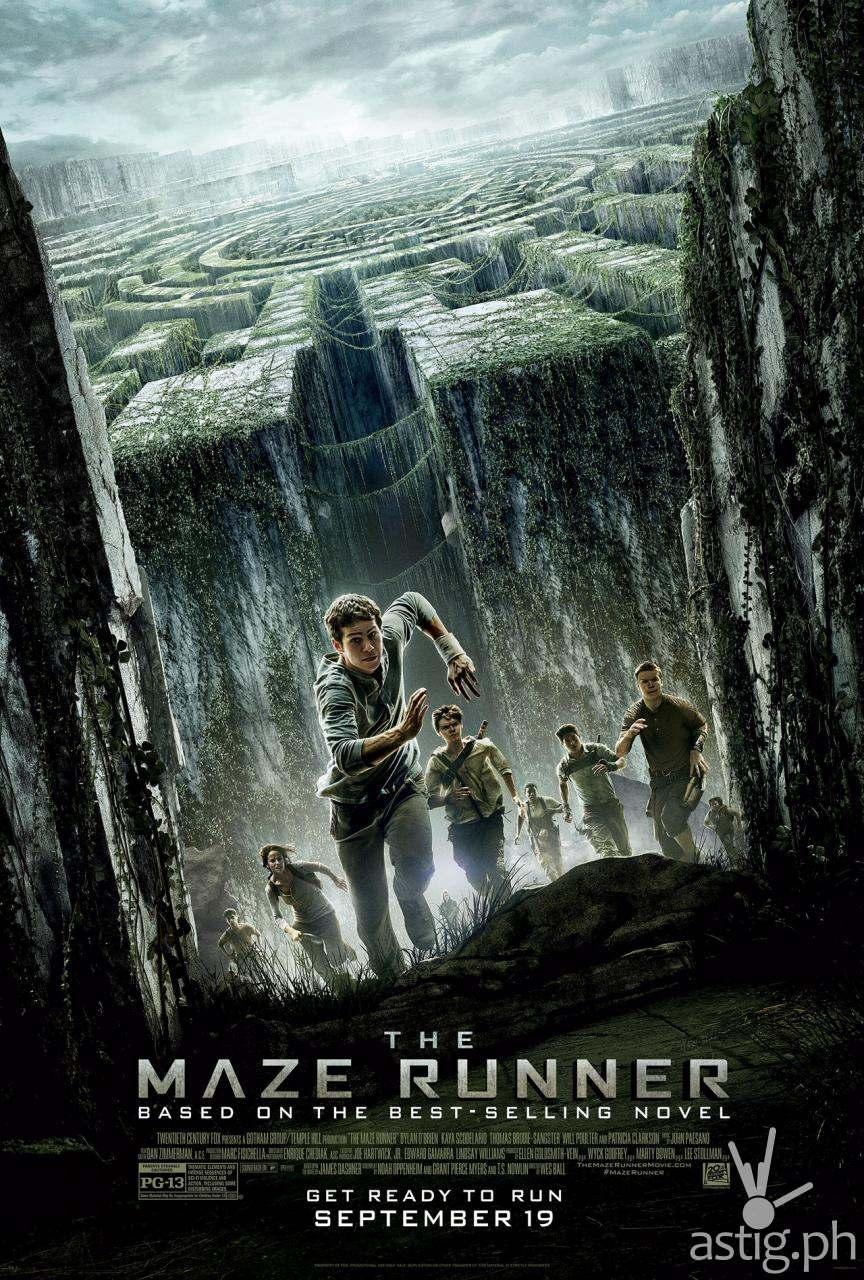 The Maze Runner movie poster Philippines