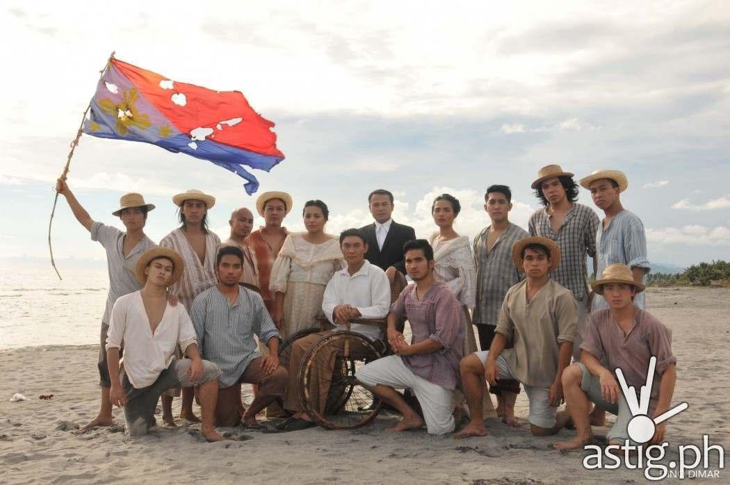 Ang Huling Lagda ni Apolinario Mabini: The cast of Dulaang UP's Ang Huling Lagda ni Apolinario Mabini