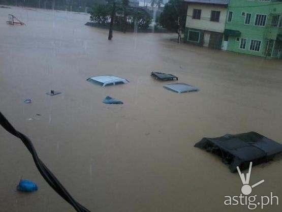 Typhoon Marikina flood over Marikina City