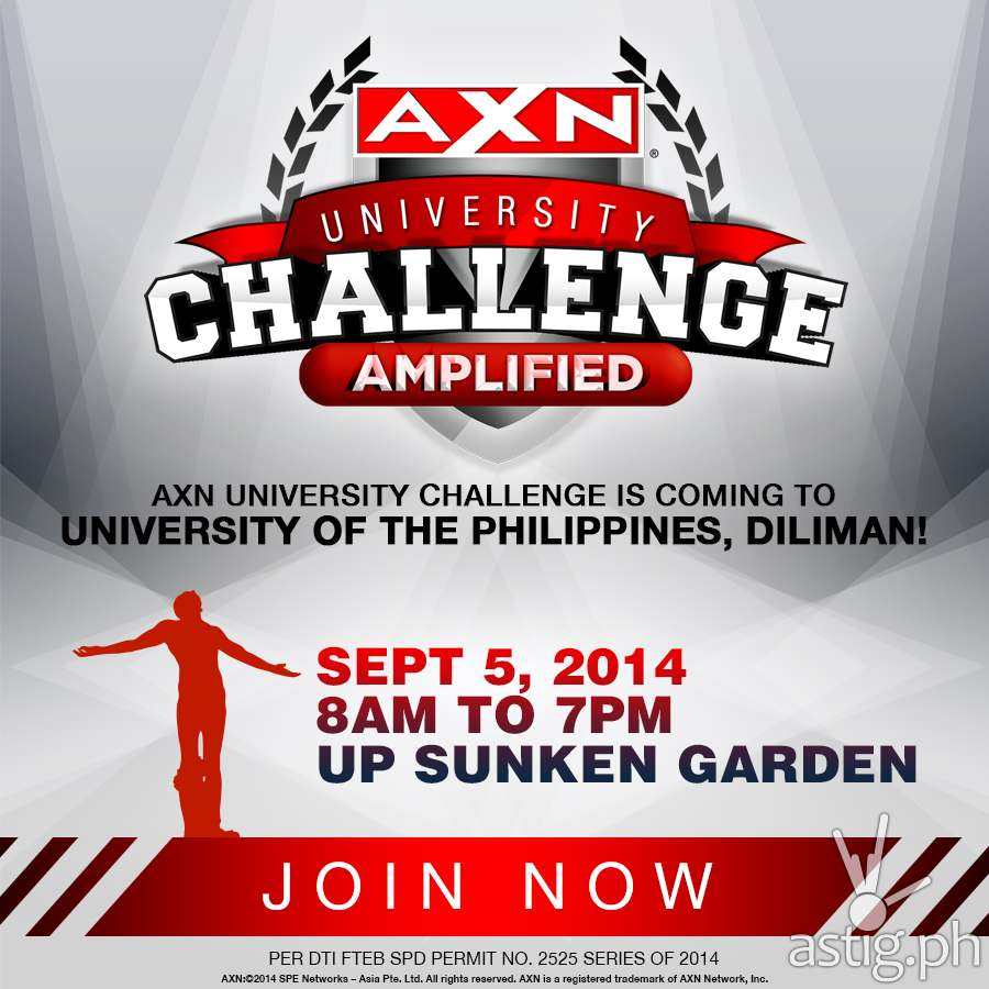 AXN University Challenge: Amplified UP Diliman