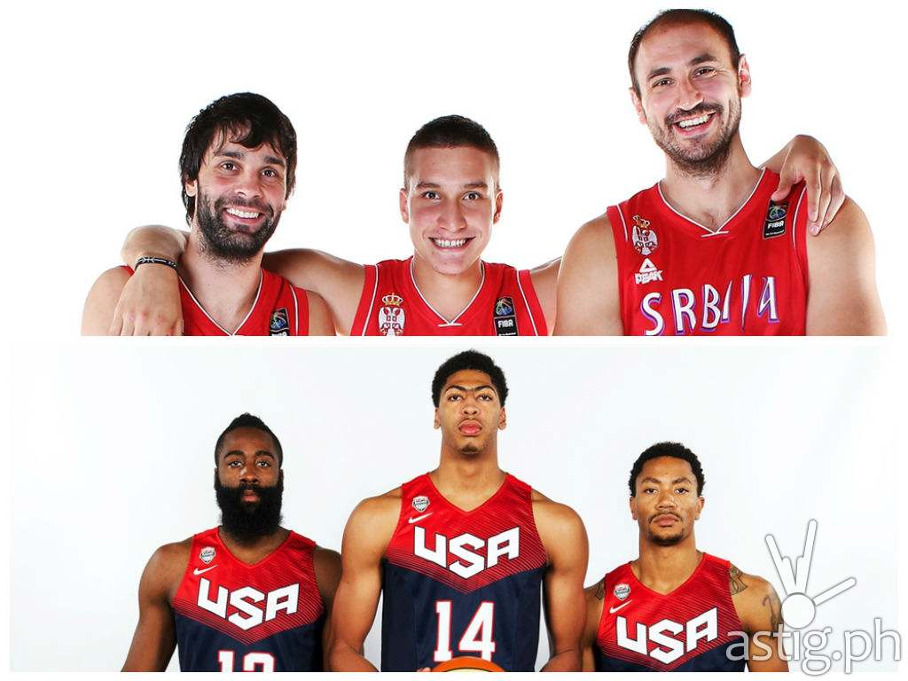 USA vs Serbia FIBA World Cup Finals
