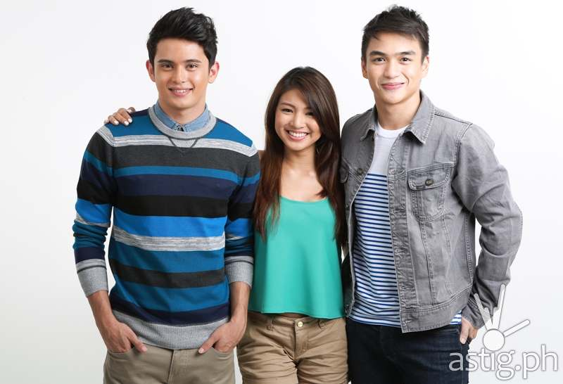 James Reid, Nadine Lustre, Dominic Roque stars in Wansapanataym Presents My App Boyfie