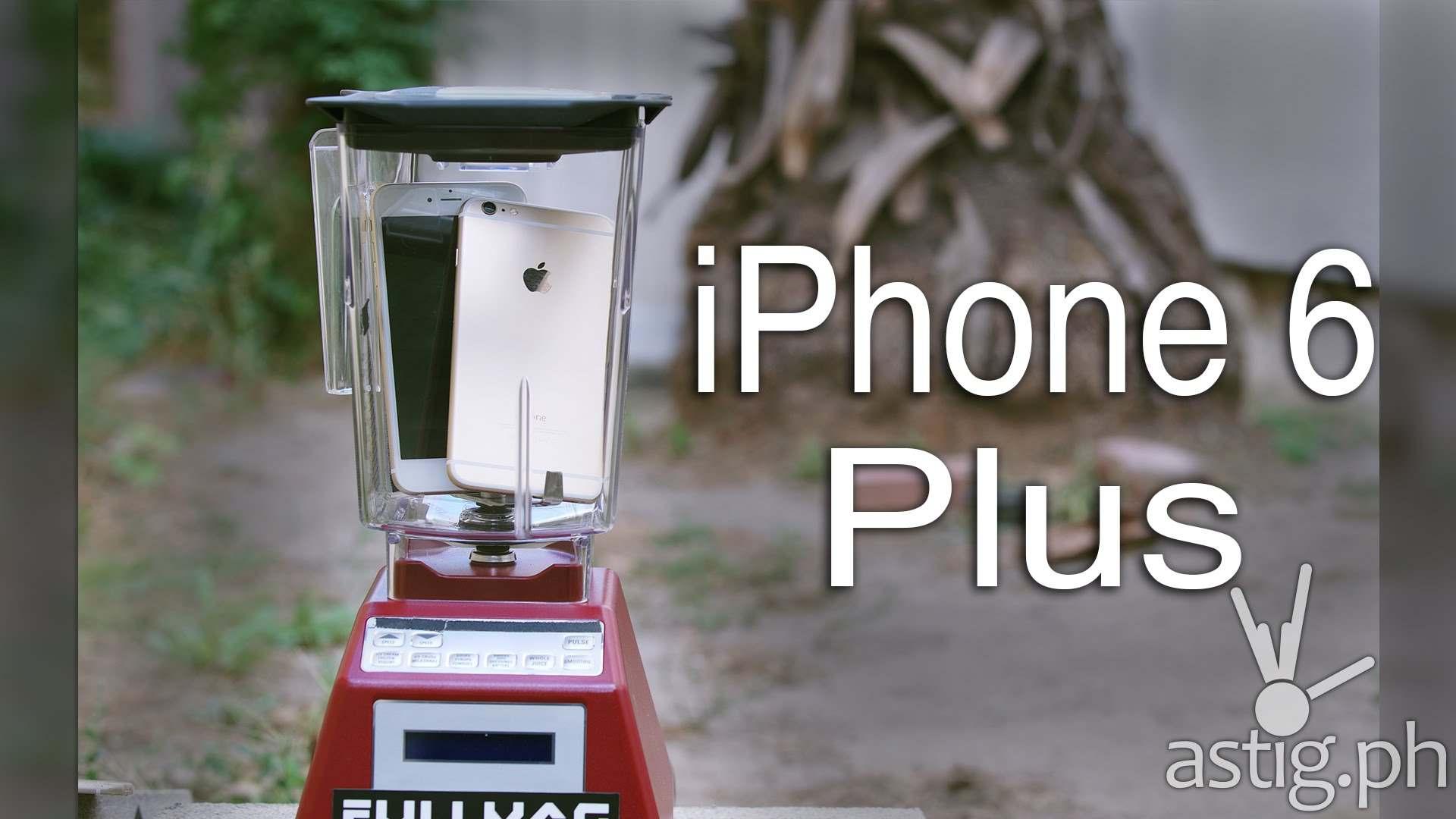 iPhone 6 Plus blend test Blendtec blender