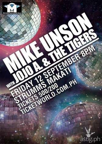 Mike Unson with Jojo A. & The Tigers on September 8 at Strumms