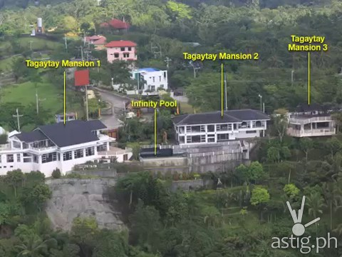 5000 square meter Tagaytay Mansion allegedly owned by VP Jejomar Binay