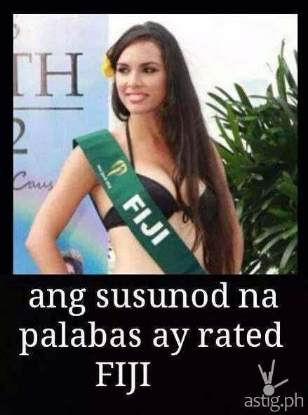 Ang susunod na palabas ay rated ... FIJI!!!
