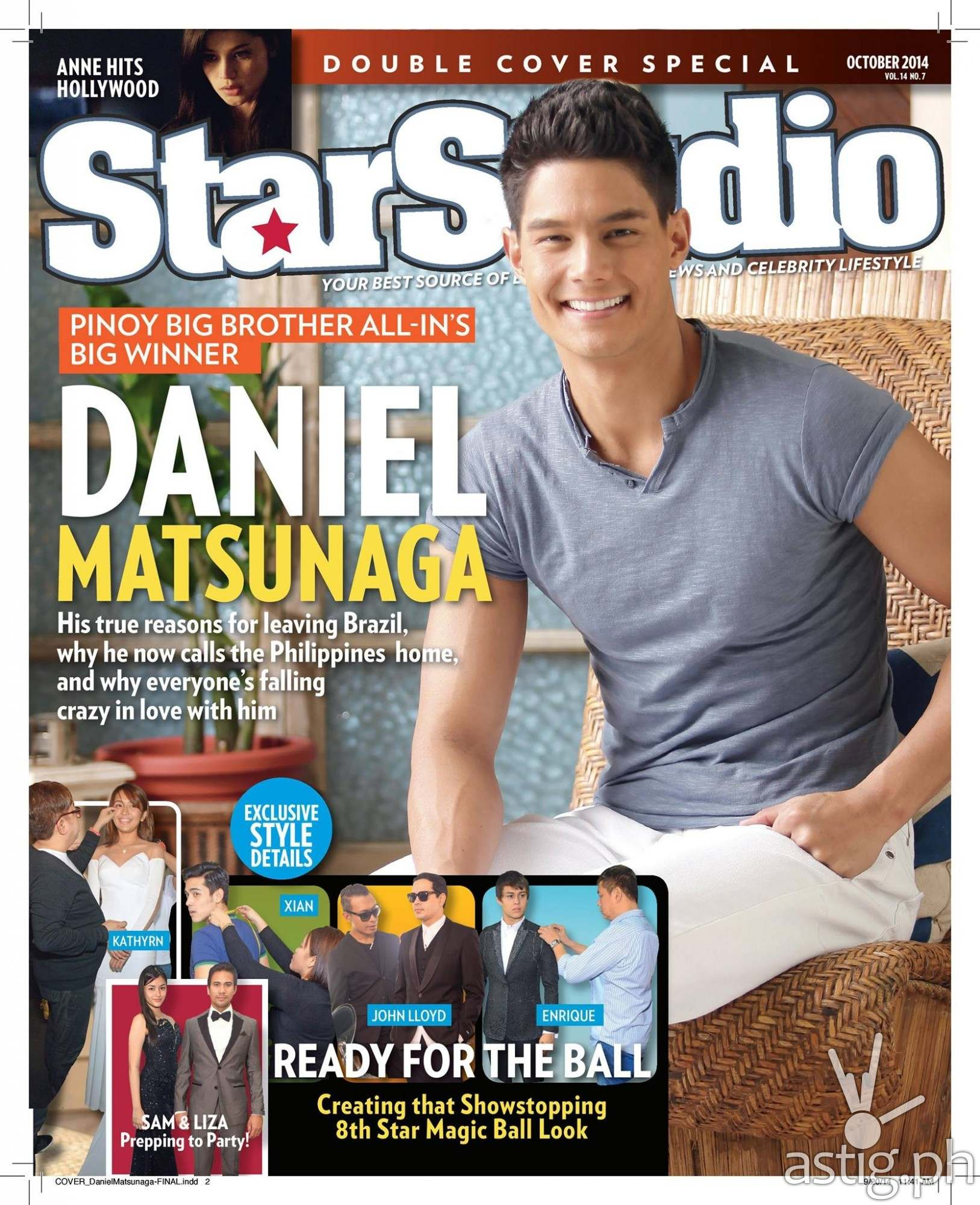 Daniel Matsunaga on StarStudio Magazine October 2014