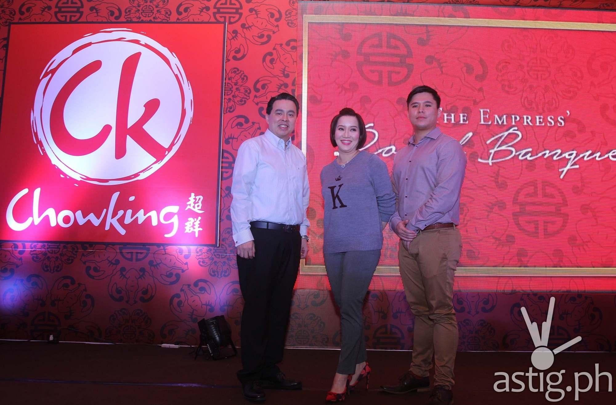 Ferns Yu, Kris Aquino, Dominic Hernandez