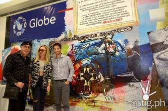 Local artists transform Globe stores into works of art