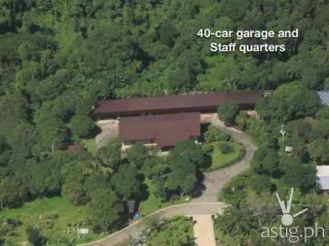 Hacienda Binay 40-car garage & staff house