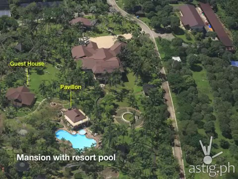 Hacienda Binay mansion with resort pool