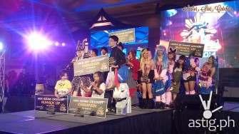 The winners! :D