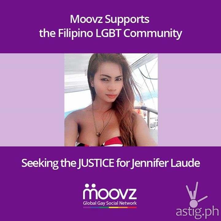 Jennifer Laude online vigil Moovz