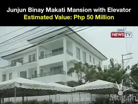 Mayor Junjun Binay Makati Mansion