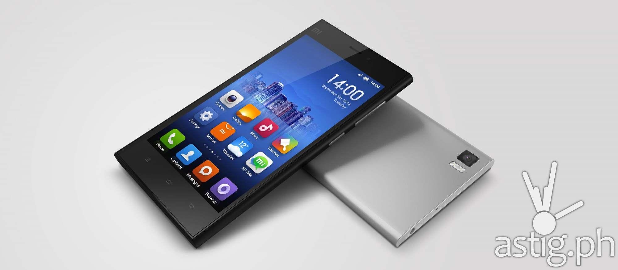 Xiaomi Mi 3 Android smartphone