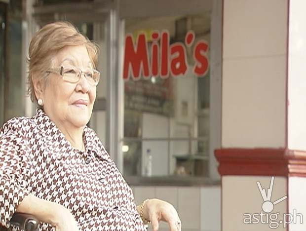 Mila's Lechon owner Nena Cesario