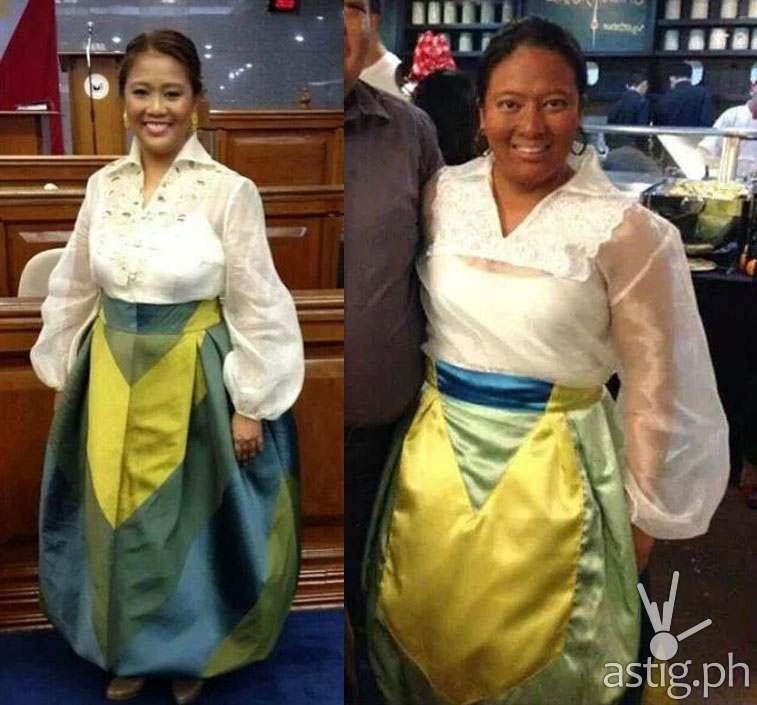 Nancy Binay halloween costume by Yeoh Navarrete Egwaras