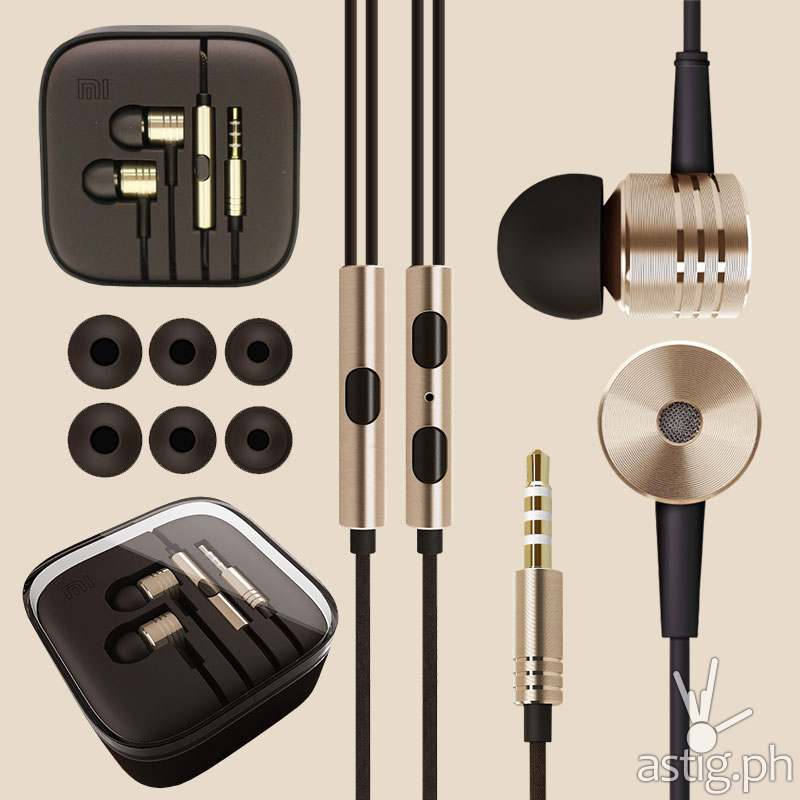 Original Xiaomi in-ear earphones can be purchased separately for P695