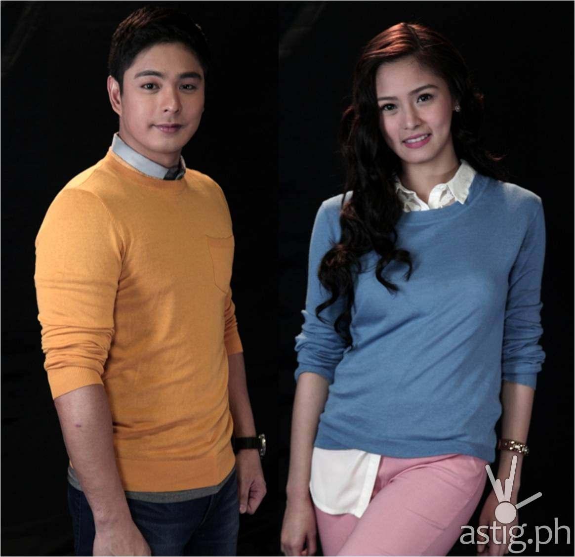 Coco Martin and Kim Chiu as Gabriel and Andrea in Ikaw Lamang