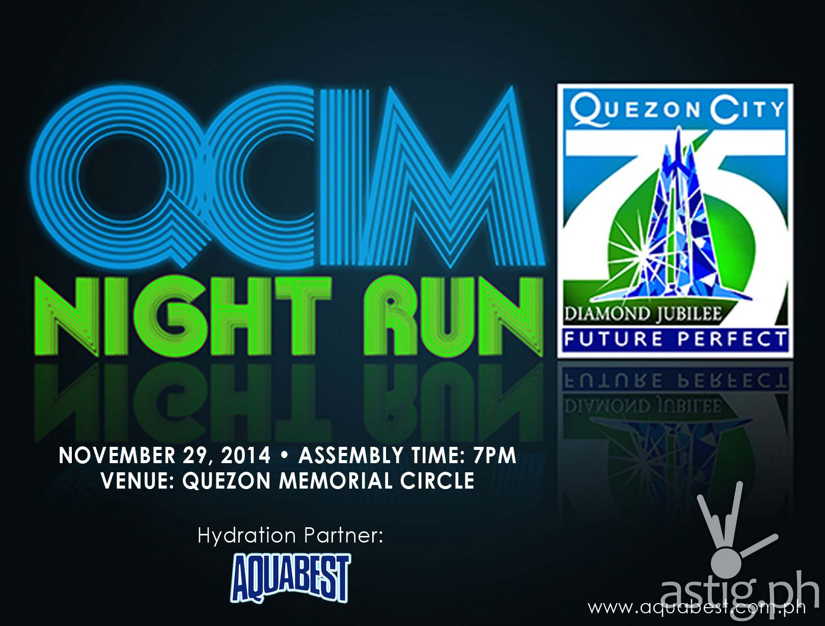 Aquabest QCIM Night Run