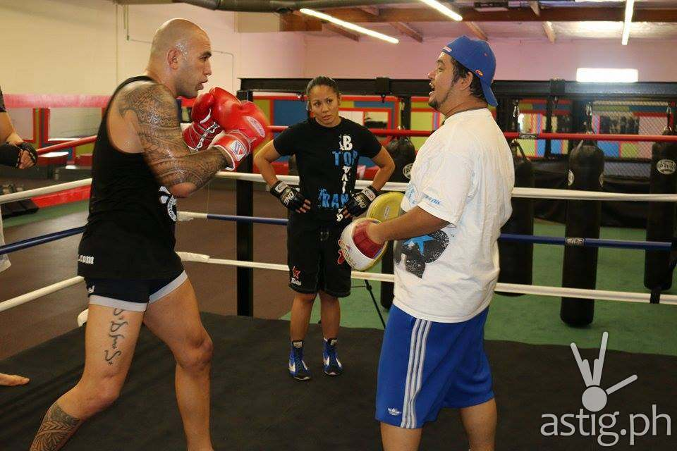 Brandon Vera and Ana Julaton