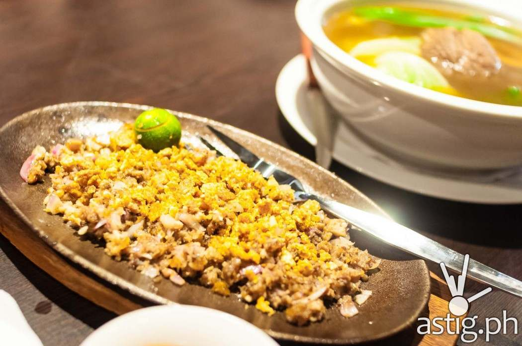 Gerry's Grill Sizzling Pork Sisig (198 PHP)