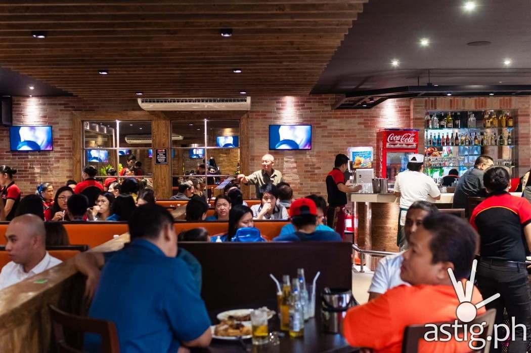 Gerry's Grill SM Centerpoint Sta Mesa (interior)
